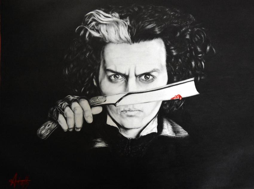 Johnny Depp por Stefany44